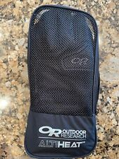 New listing Outdoor Research Heated Li Ion Snow Ski Gloves Leather Alti Heat Medium