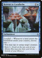 Magic the Gathering (mtg): The List: Retreat to Coralhelm