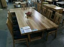 Solid Blackbutt Dining Table - Timber U Leg
