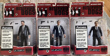 3 Reservoir Dogs Action Figures Mezco Mr. Blonde, Mr. Orange, Mr. White
