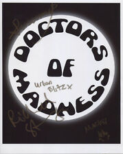 Doctors Of Madness (Band) Fully Signed Photo Genuine In Person Richard Strange