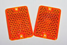 Universal Rot Reflektor x2 Stück links=rechts 44x94mm 4651-04 OEM