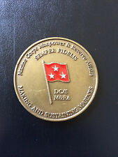 LtGen George Christmas Marine Corps M&RA Deputy Chief of Staff Challenge Coin