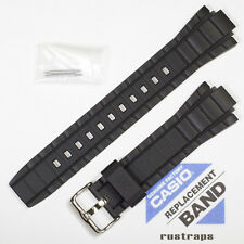 CASIO black rubber watch band for EFR-519, 10421436