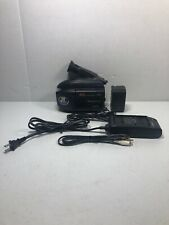 Panasonic Hand Held PV-L658D VHSC Camcorder LOT, Unknown Working Condition.