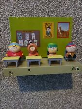 Vtg South Park School Room With Vinyl Figures 1998 non tested.