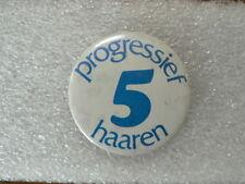 BUTTON PROGRESSIEF 5 HAAREN