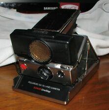 Polaroid SX-70 Land Camera Sonar OneStep Black - Great Shape