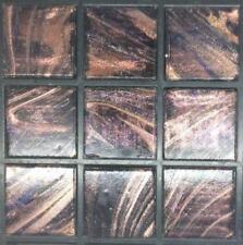 225 Oro Marrón vítrea Mosaico de vidrio 20mm baldosas G42