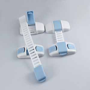 Child Safety Cupboard Locks Proof Cabinet Door Fridge Latches Pack of 1/2/5/10