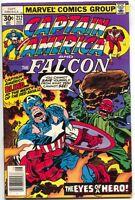 Captain America 212 Marvel 1977 VF Falcon Jack Kirby Red Skull