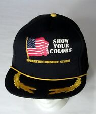 Operation Desert Storm Show Your Colors Ball (Truckers) Cap
