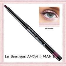 Crayon EYELINER yeux Scintillant ROSE Pale DIAMOND Pink Shimmer AVON