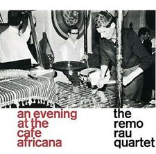 At the Cafe Africana By Remo Rau Quartet Vinyl LP Record Reissue Import NEW