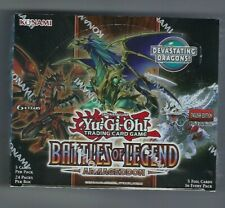 Yugioh BATTLES OF LEGEND: ARMAGEDDON Booster Box Sellado de fábrica