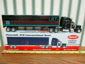 Prince 30 Peterbilt Semi With Van Trailer By SpecCast 1/64th Scale