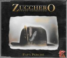 "ZUCCHERO - RARO CDs PROMO "" PAPA' PERCHE' """