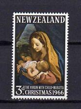 12132) New Zealand 1966 Christmas - Natale - MNH