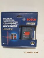 Bosch Tools GLL2 Self-Leveling Cross Line Laser W/Flexible Mount- NEW SEALED BOX