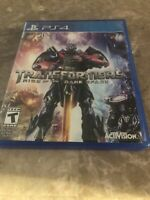 Transformers Rise of the Dark Spark PS4 PlayStation 4 - Fast Free Shipping