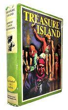 Robert Louis Stevenson, Edmund Dulac, TREASURE ISLAND, 1932, HC/DJ