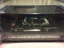"DIE CAST ""CADILLAC LIMOUSINE DECAPOTABLE QUEEN ELIZABETH II"" PRESIDENTIAL 1/43"