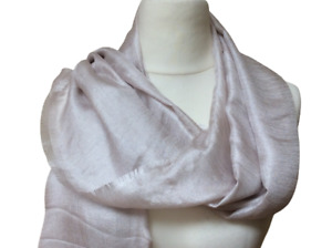 Phase Eight Scarf Shawl Wrap Verity Oyster Semi Sheer RRP £39.00