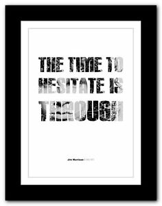 Jim Morrison ❤ typography quote poster art limited edition print The Doors #24