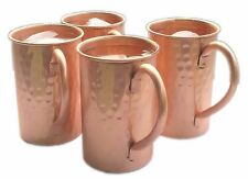 Set of-4, Drinkware Accessories Hammered Copper Moscow Mule Mugs / Cups Capacity
