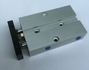 TN10X15 Dual Action 10mm Bore 15mm Stroke Double Rod Pneumatic Air Cylinder
