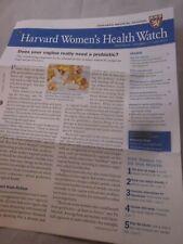 HARVARD MEDICAL SCHOOL HARVARD WOMEN'S HEALTH WATCH NEWSLETTER JULY 2019 NEW