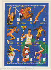 MNH OLYMPIC GAMES STAMP SHEET 1996 ATLANTA OLYMPICS KENYA