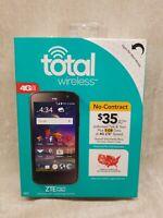 ZTE Majesty Pro Plus - 16GB- Black Total Wireless .. NEW - FREE SHIPPING