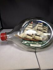 "Antique Ship In Bottle ""Flying Cloud 1851�"