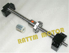 Ballscrew SFU RM1605-L400mm+Single Ball nut+BK/BK 12+Coupling CNC Milling Kit