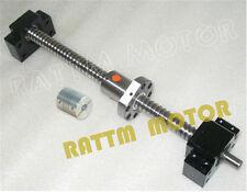 Ball Screw RM/SFU1605-L400mm+Ball nut+BK/BK 12 Support+Coupling CNC Router Kit