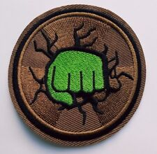 Hulk Smash Hulk Fist Avenger Hulk Movie Iron On patch Sew On Transfer