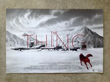 The Thing Jason Edmiston Rare Mondo Poster Print Art John Carpenter Drew Struzan