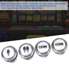 4PC Empezar Pulsador Inicio Juego Arcade 1 Player+2 Player+LED Moneda Botones