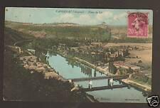 CAPDENAC (12) PONT FERROVIAIRE Metallique & VILLAS 1934