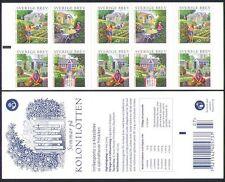 Sweden 2005 Gardens/Allotments/Crops/Trees/Fruit/Nature/Plants 10v bklt (n34296)