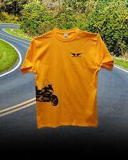 Honda Goldwing 1800 Trike Custom Tee Shirt Gold/Black