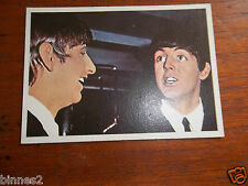 THE BEATLES DIARY TOPPS T.C.G. GUM TRADING CARD COLOUR / COLOR 1965 CARD NO.1A