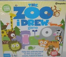 The Zoo iDrew Game TODD GOLDMAN EDU AGES 3+  PRESCHOOL ALPHABET COLORS LETTERS