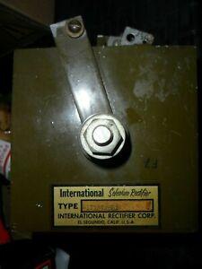 Vintage International Selenium Rectifier Type  E1T1ST2BHX