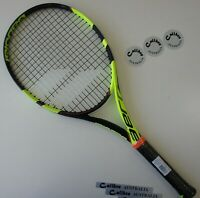 "BABOLAT PURE AERO PLAY Tennis Racquet, STRUNG, Grip 4 (4-1/2""), STRUNG"