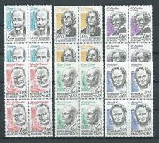 CÉLÉBRITÉS - 1983 YT 2279 à 2284 blocs de 4 - TIMBRES NEUFS** LUXE