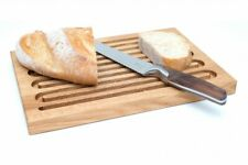 Wooden Cutting Bread Board 40x29x2.5 cm, Solid Oak, Chopping-Board