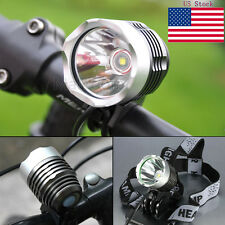 3000LM CREE XML T6 LED Bicycle Bike 2 in 1 Headlight Head Lamp Front Light Torch