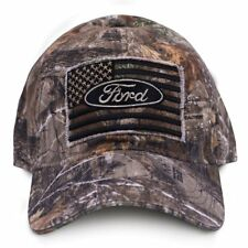 Ford Motor Company Truck Smooth Operator USA Flag Camo Camouflage Hat Cap  9118